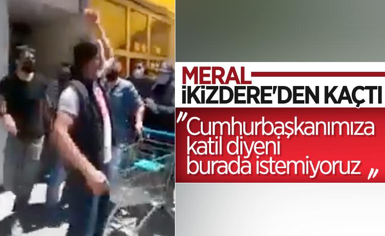 Meral Akşener, protesto üzerine İkizdere'den ayrıldı