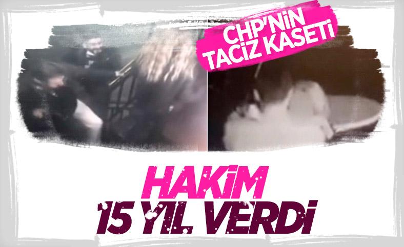 Cinsel saldırıdan yargılanan eski CHP Maltepe İlçe Başkan Yardımcısı'na hapis
