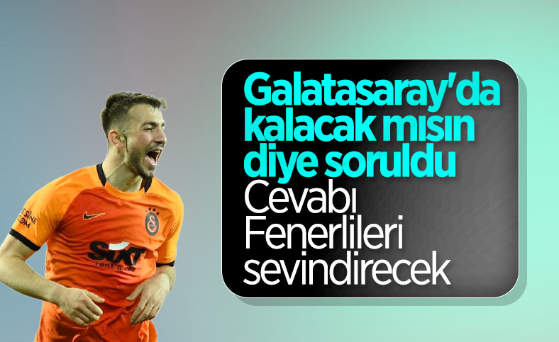 Halil Dervişoğlu'ndan Galatasaray açıklaması
