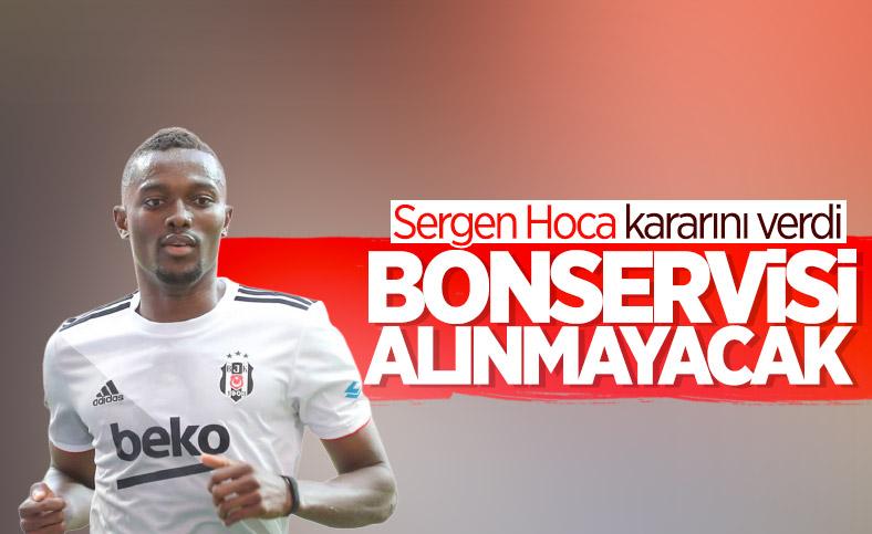 Beşiktaş Mensah'ın bonservisini almayacak