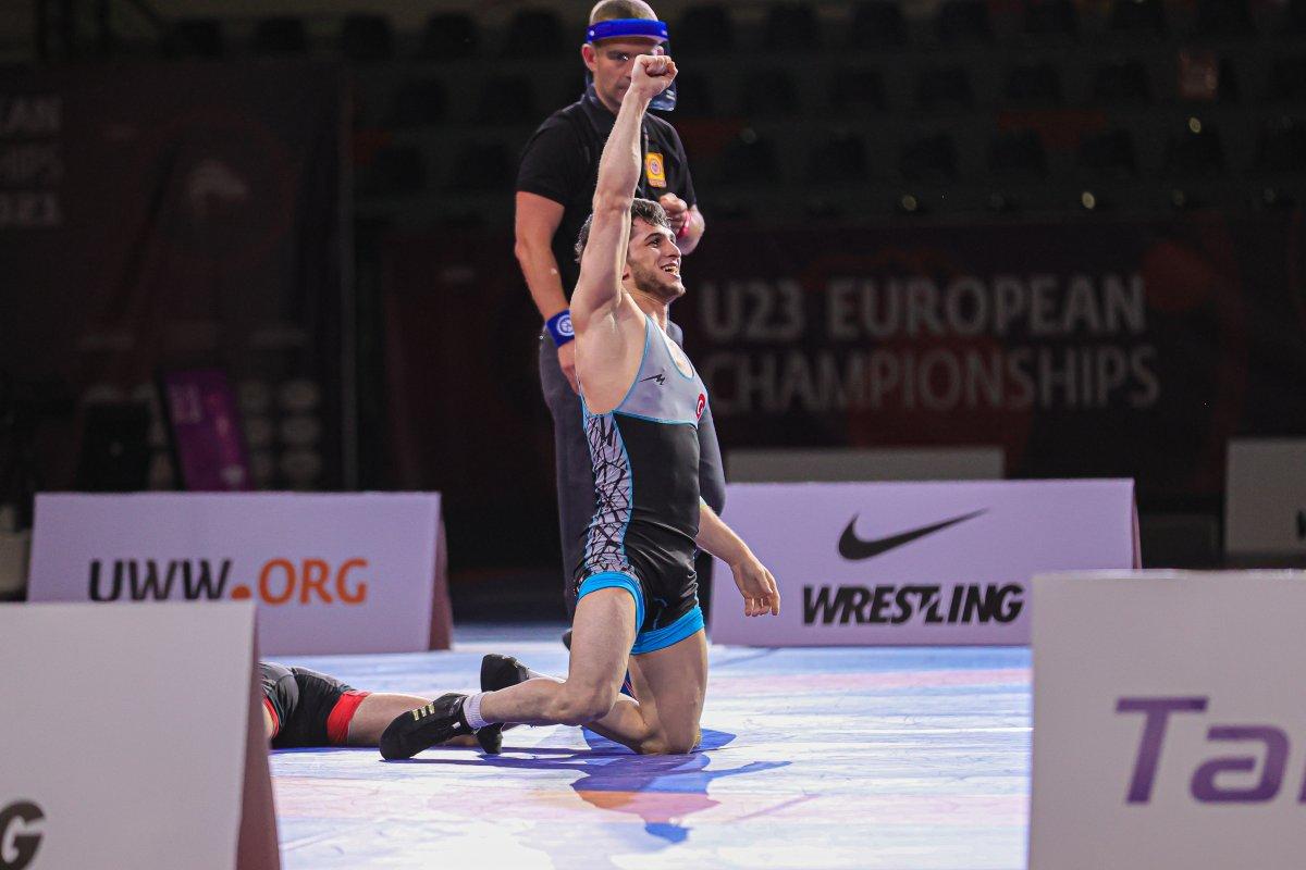 23 Yaş Altı Avrupa Güreş Şampiyonası nda 6 madalya #3