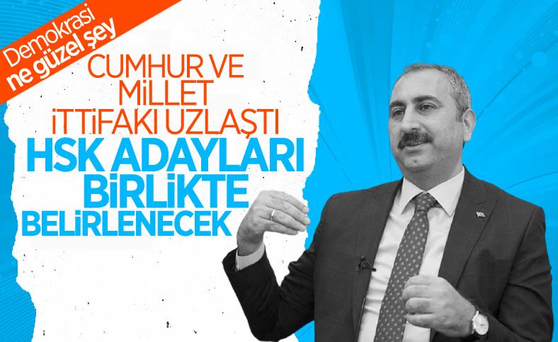 İttifaklar, HSK seçimi için uzlaştı