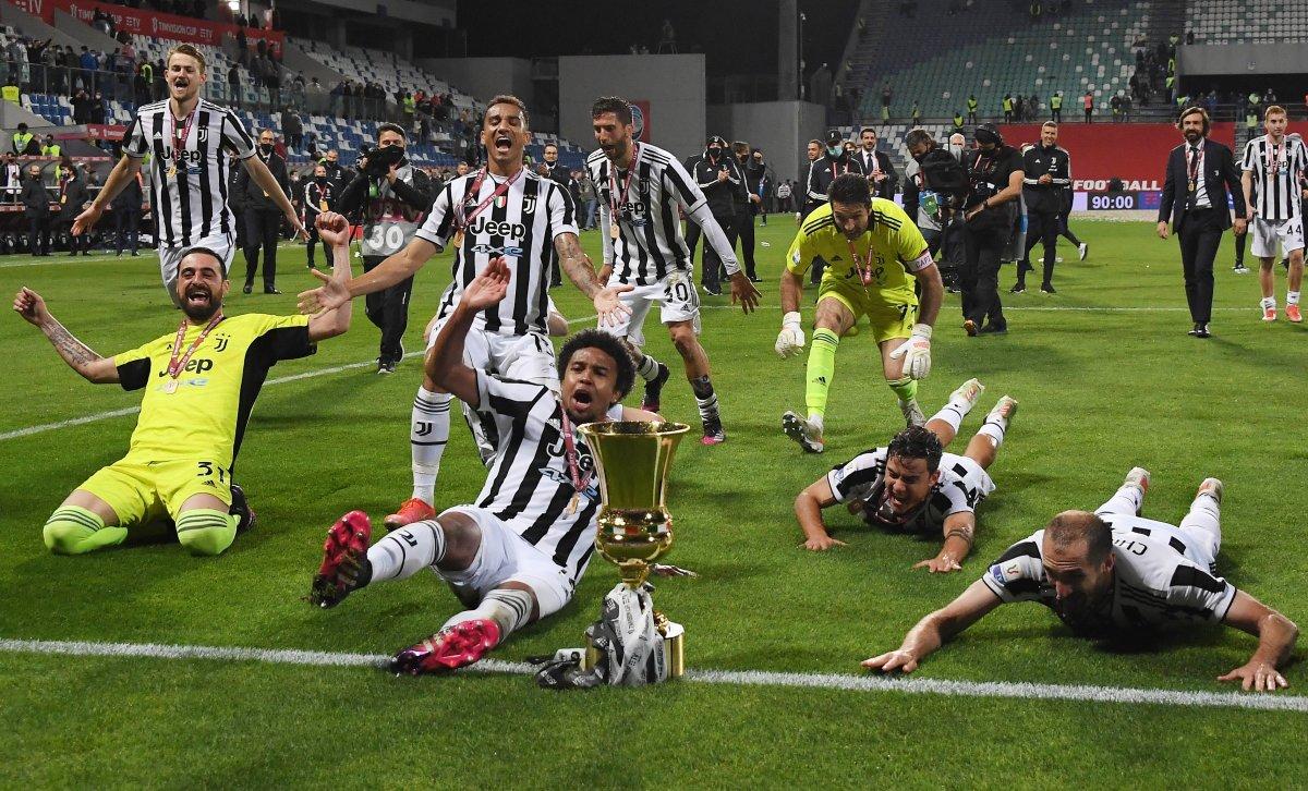 Juventus İtalya Kupası nı kazandı #6