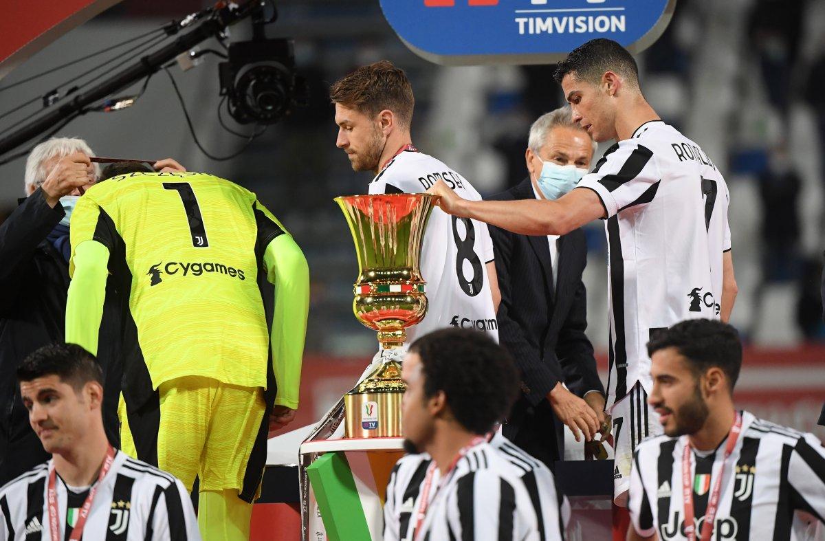 Juventus İtalya Kupası nı kazandı #5