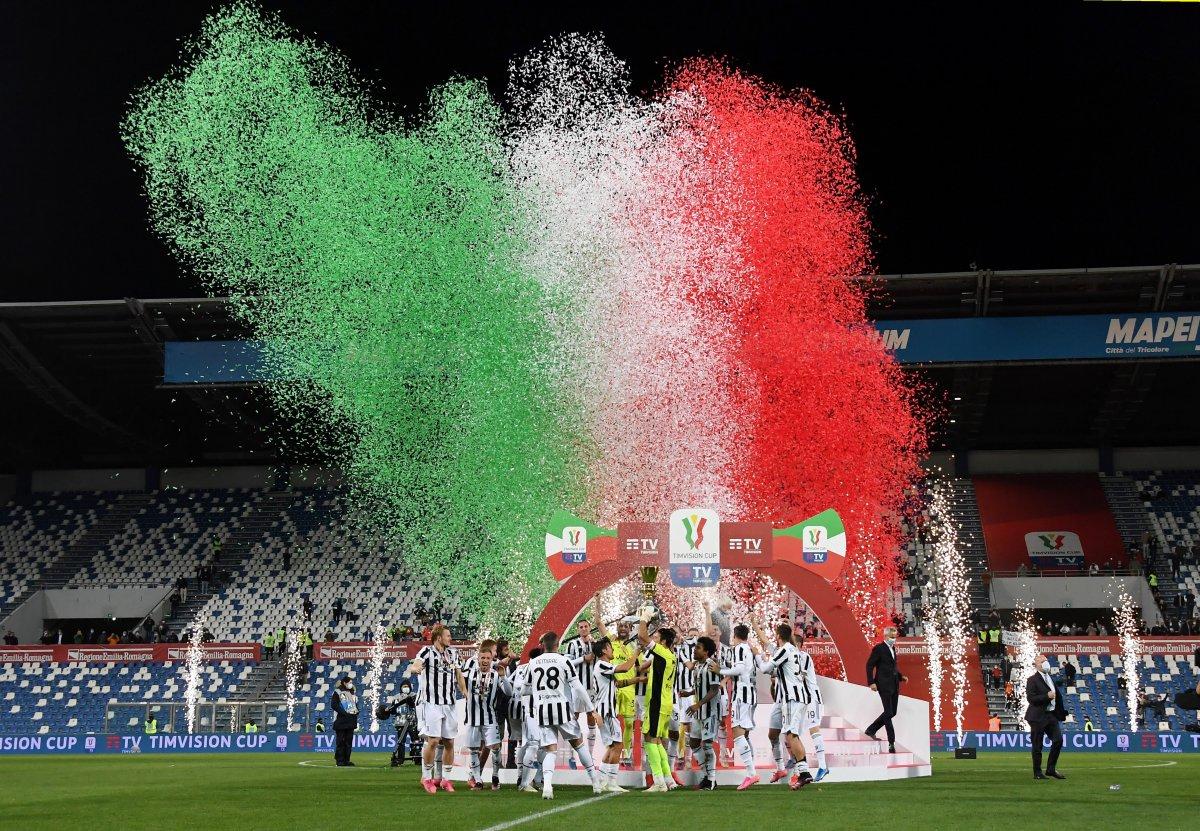 Juventus İtalya Kupası nı kazandı #7