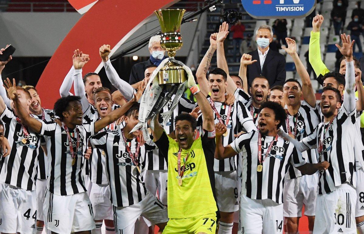 Juventus İtalya Kupası nı kazandı #8