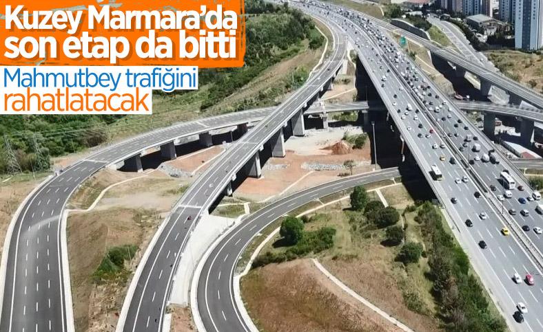 Kuzey Marmara Otoyolu Projesi'nin son bölümü de bitti