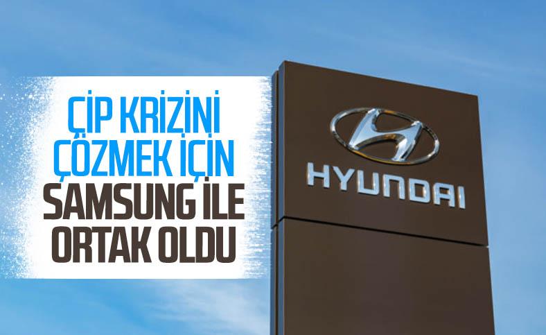 Hyundai ve Samsung, çip krizi için güçlerini birleştirdi