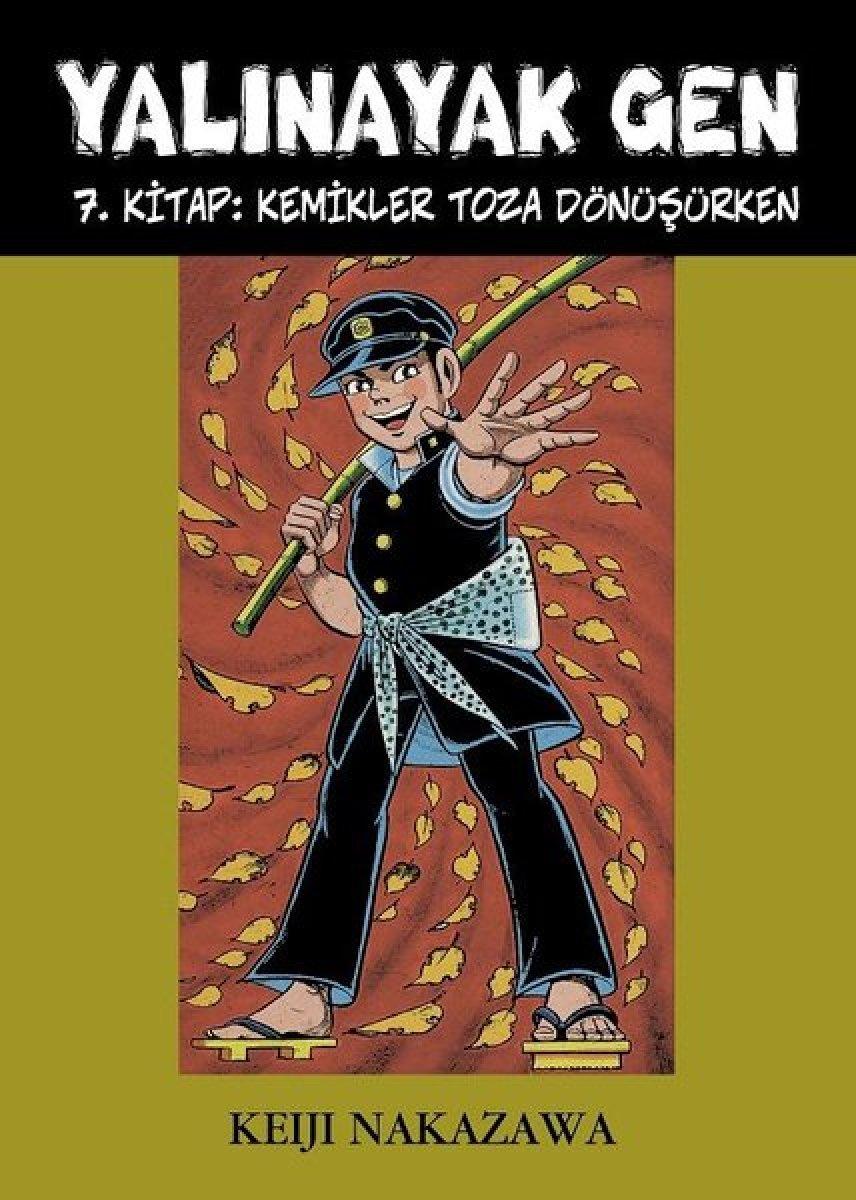 Hiroşima'nın hikâyesi Yalınayak Gen kitabı seriside #1