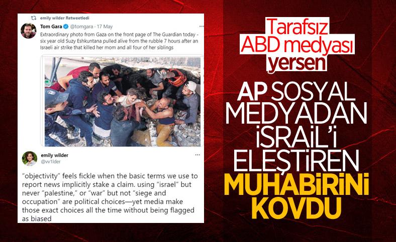 AP, İsrail'i eleştiren muhabirinin görevine son verdi