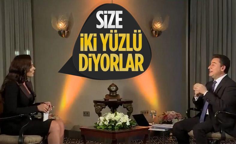 Buket Aydın'dan Ali Babacan'a 'Size iki yüzlü diyorlar' sorusu