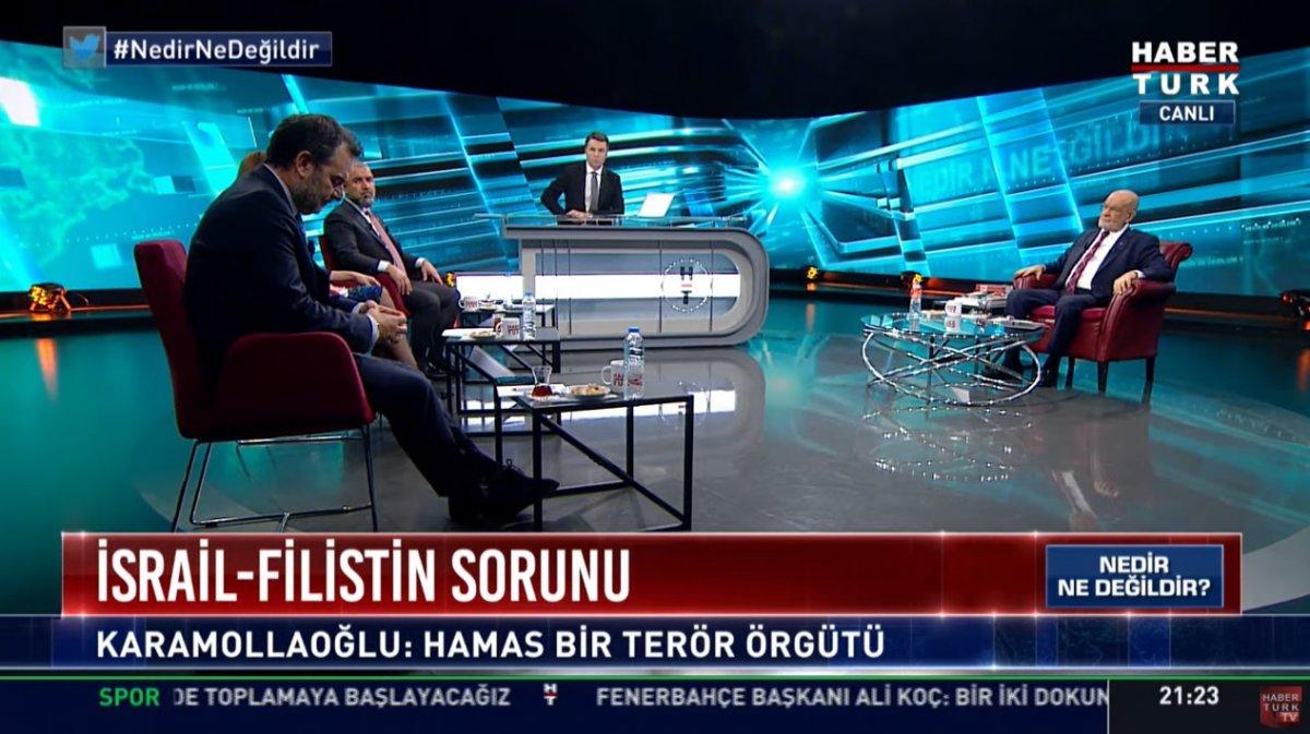 Habertürk ün Hamas KJ si Temel Karamollaoğlu nu panikletti #1