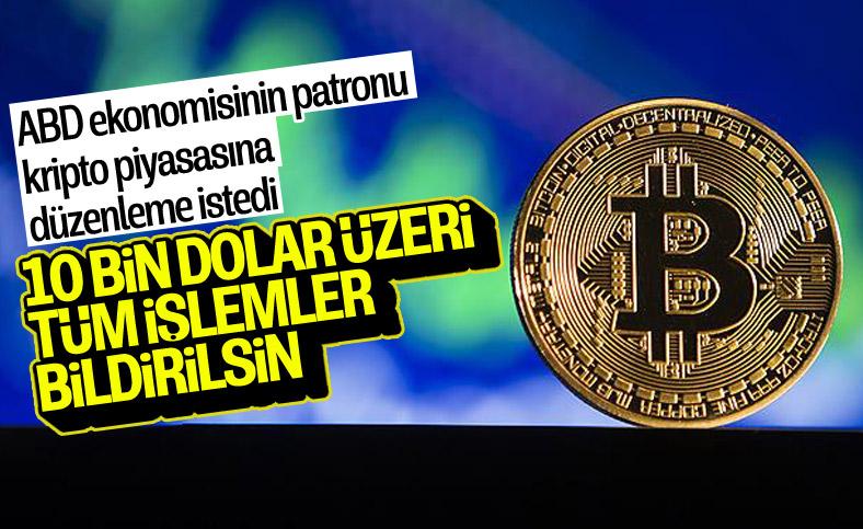 ABD Hazine Bakanlığı kripto paraya önlem istedi