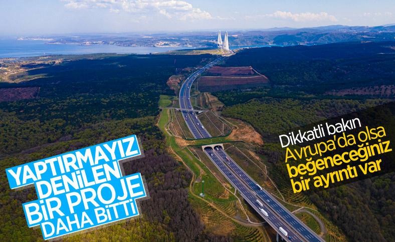 Kuzey Marmara Otoyolu tamamlandı