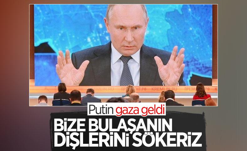 Vladimir Putin, tehditler savurdu