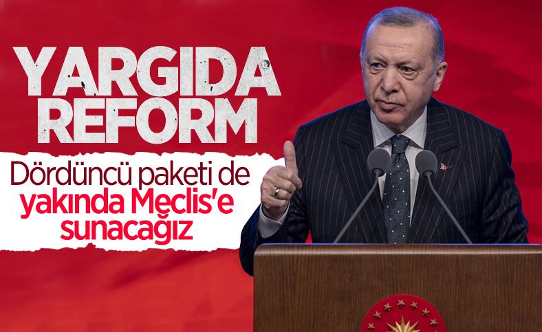 Yargı reformunda dördüncü paket Meclis'e geliyor