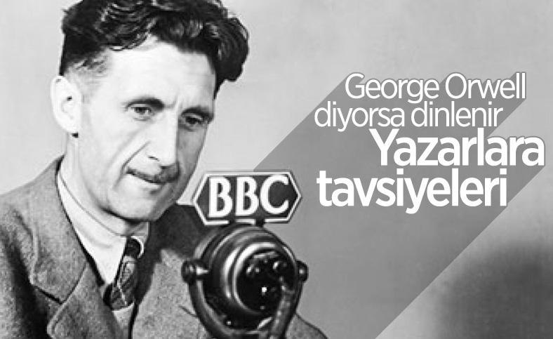 George Orwell'den yazarlara klişelerden kurtulun önerisi