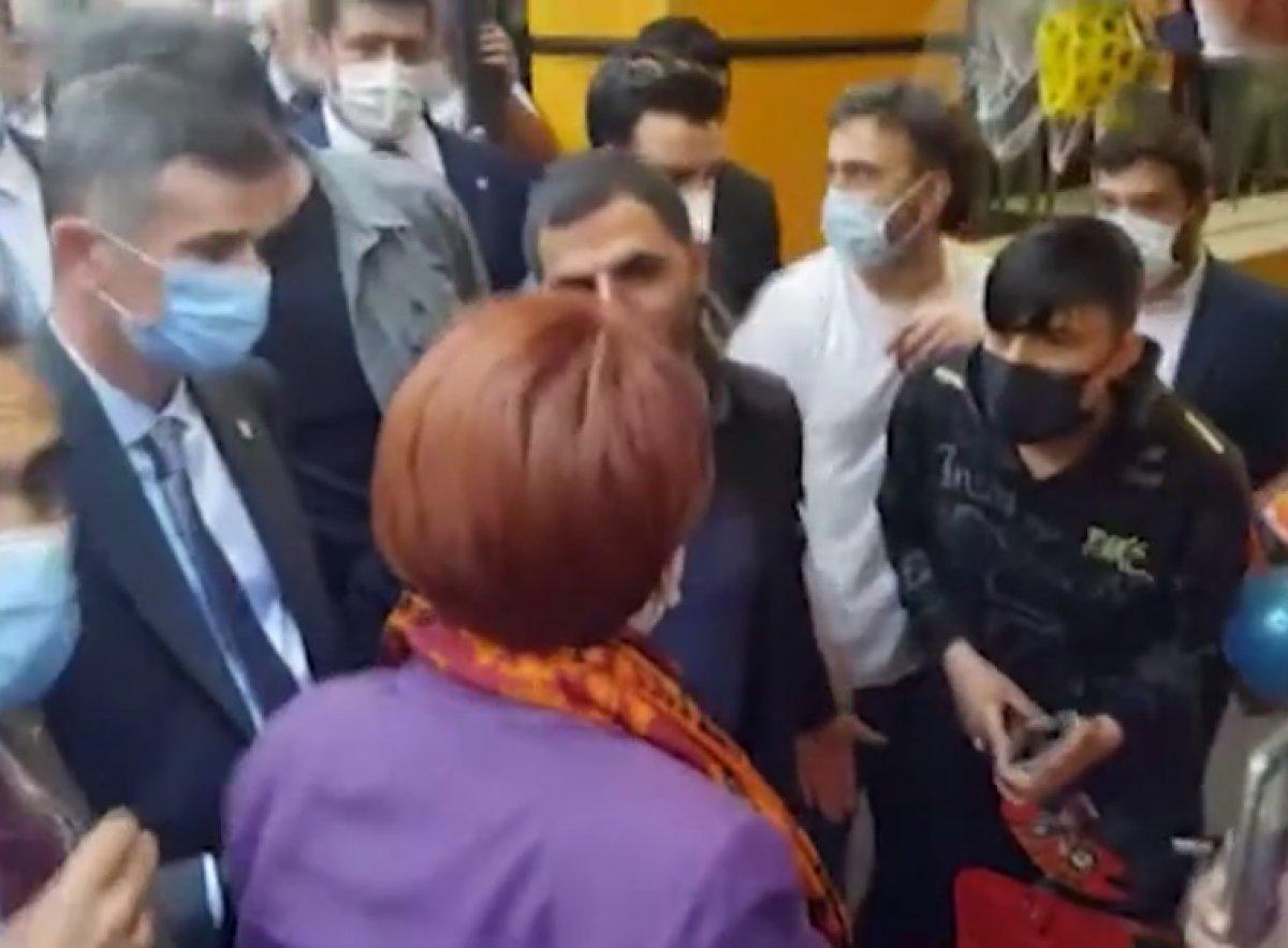 Akşener i sevgi gösterisinde bulunan kişi torbacı çıktı #1