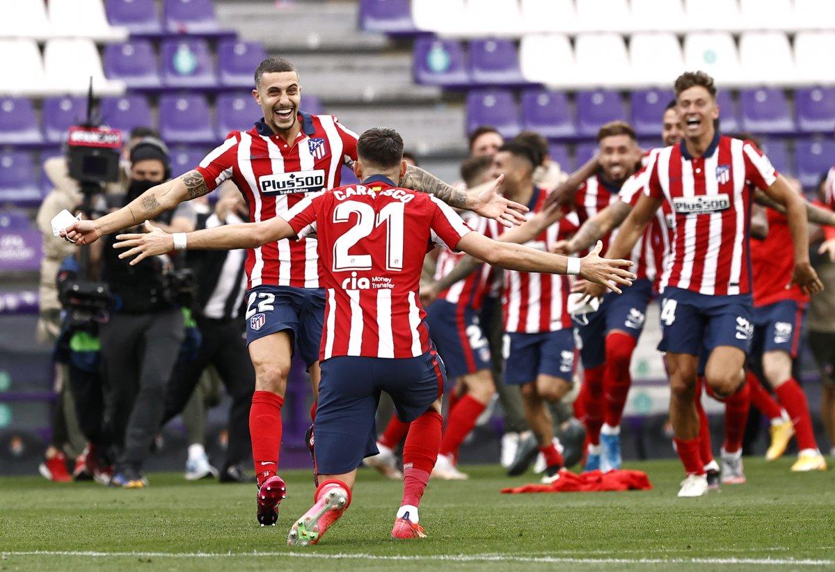 Atletico Madrid 7 yıl sonra La Liga şampiyonu #2