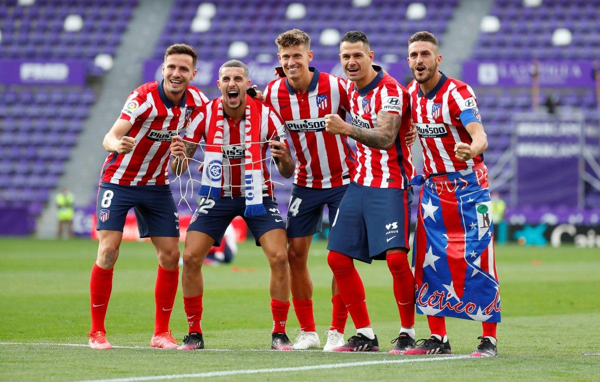 Atletico Madrid 7 yıl sonra La Liga şampiyonu #7