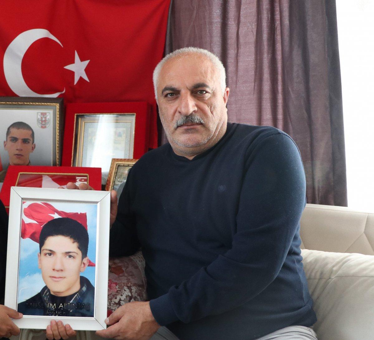 Gara şehidi Müslüm Altıntaş'ın babası: Demirtaş oğlu için gelen babayı dövdürdü #1