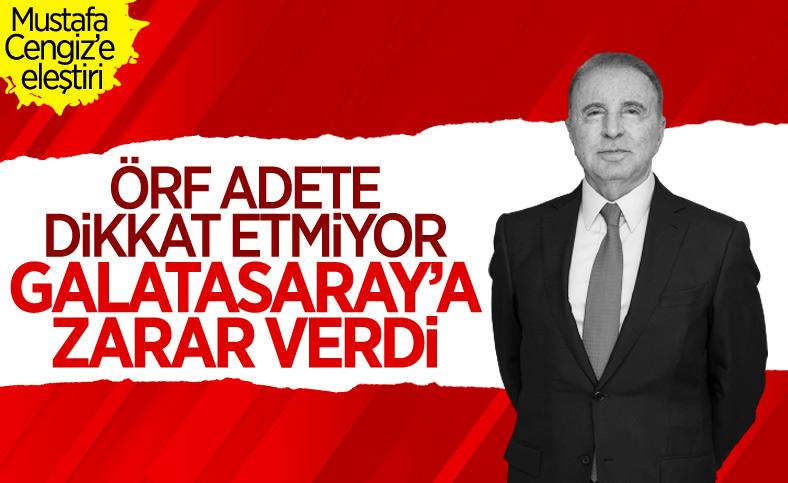Ünal Aysal: Mustafa Cengiz Galatasaray'a zarar verdi