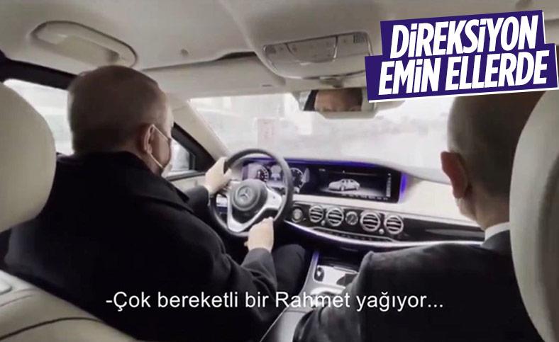Fahrettin Altun, Cumhurbaşkanı Erdoğan'ı paylaştı