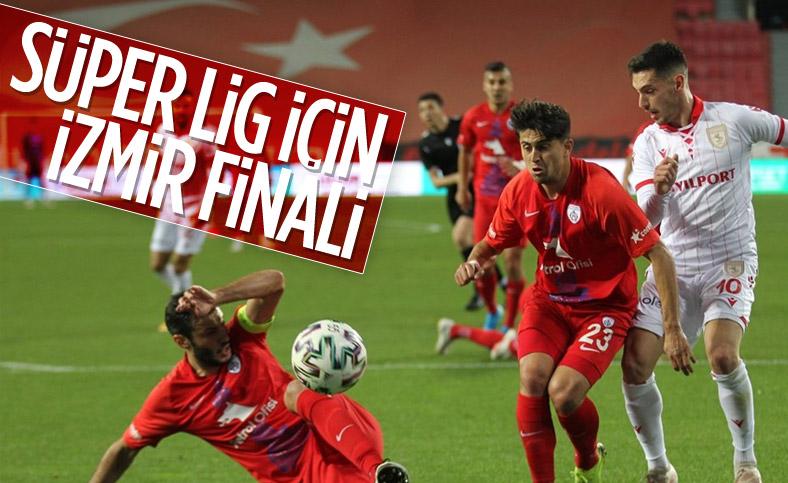 Altay ile Altınordu TFF 1. Lig play-off finalinde