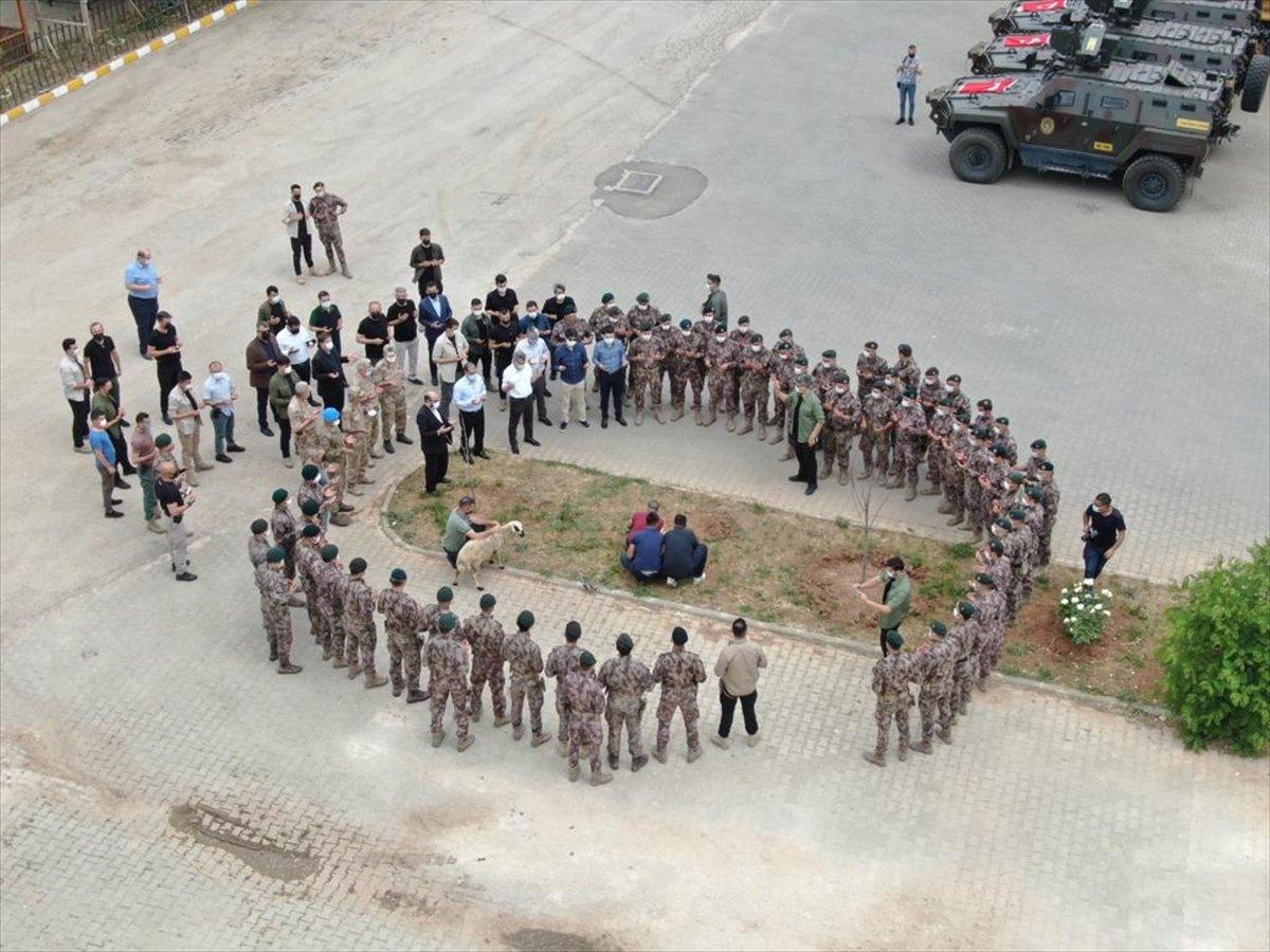 Tunceli de PÖH timleri dualarla Suriye ye uğurlandı #3