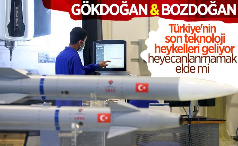 TÜBİTAK SAGE'den Türkiye'nin yeni füzeleri