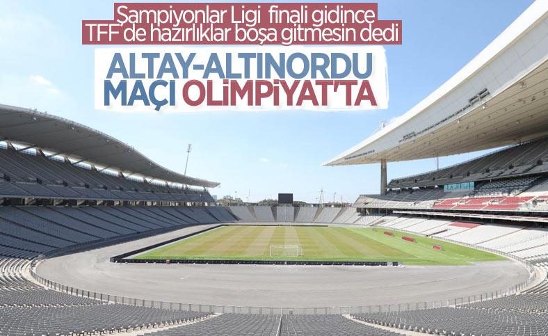 Altay-Altınordu maçının tarihi ve oynanacağı stat