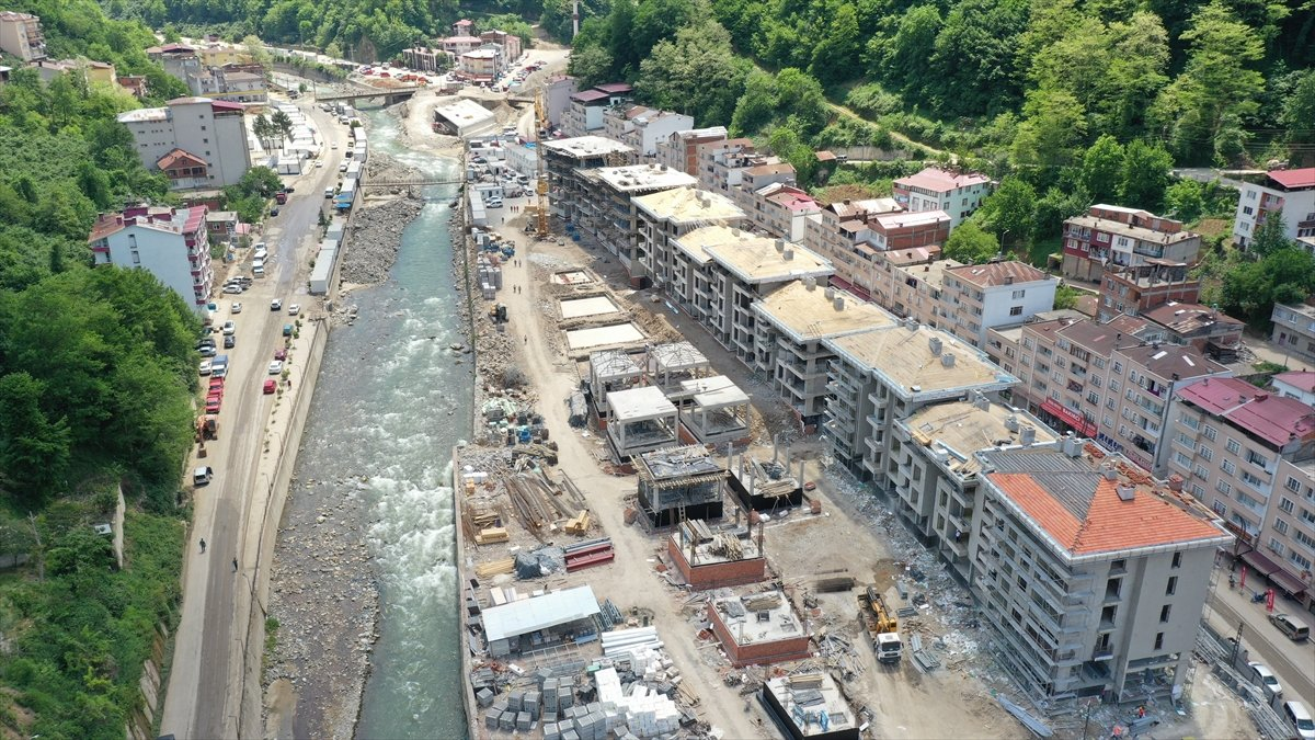 Giresun Dereli de yeni yapıların inşasında sona doğru #2