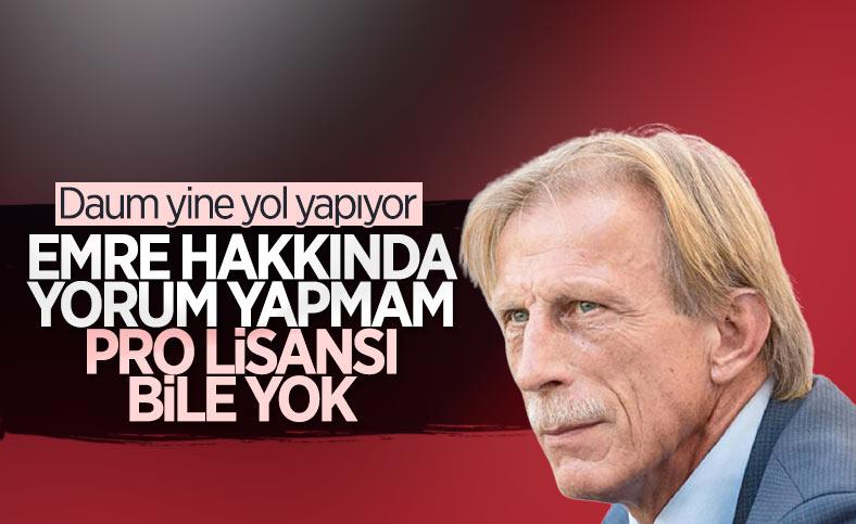 Daum: Emre Belözoğlu'nun pro lisansı bile yok
