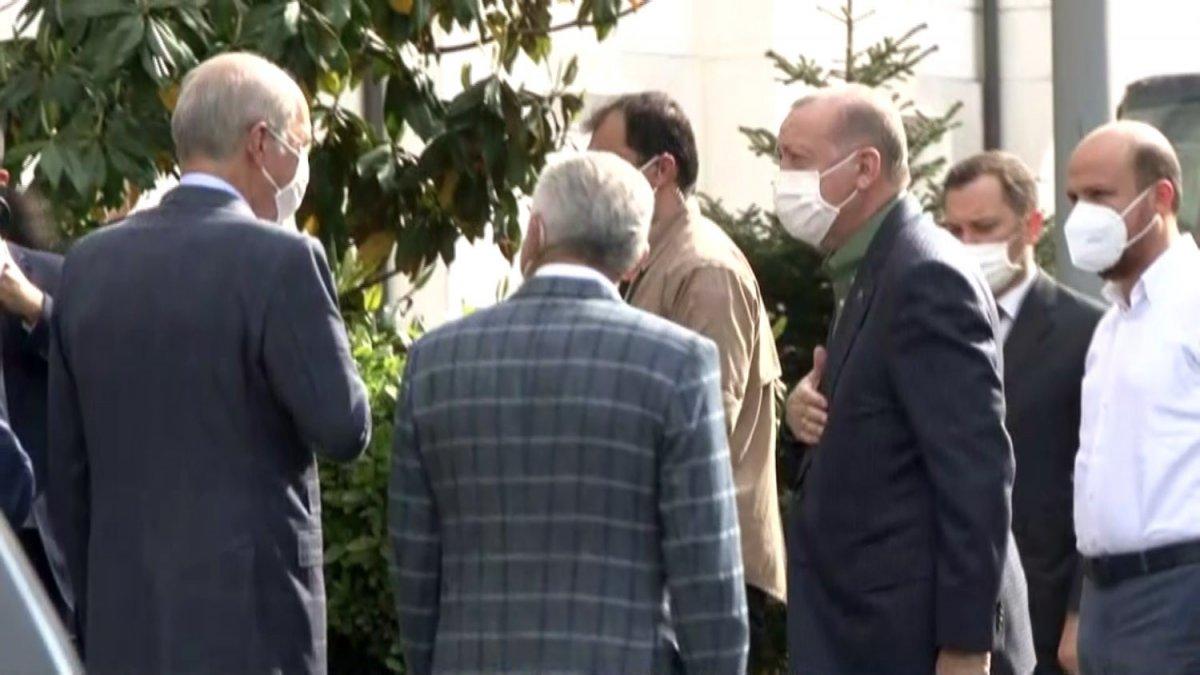 Cumhurbaşkanı Erdoğan, İstanbul da incelemelerde bulundu  #1