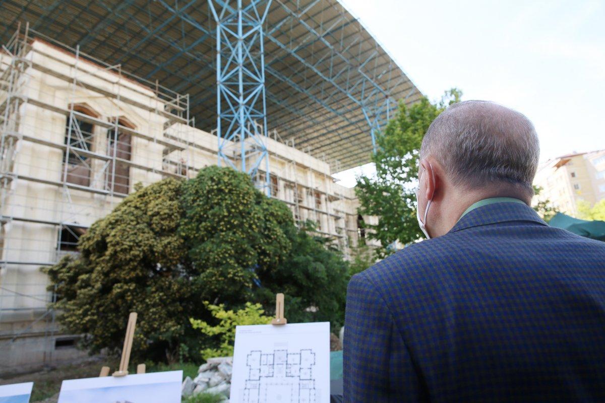Cumhurbaşkanı Erdoğan, İstanbul da incelemelerde bulundu  #4