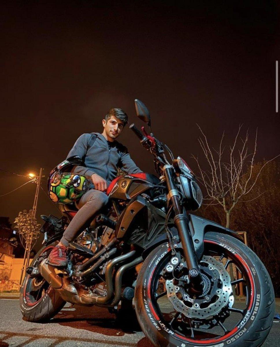 İstanbul da motosiklet tutkunu genç hayatını kaybetti  #9