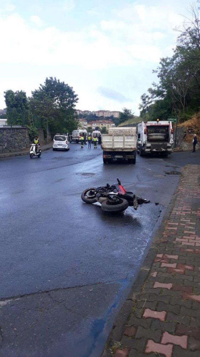 İstanbul da motosiklet tutkunu genç hayatını kaybetti  #7