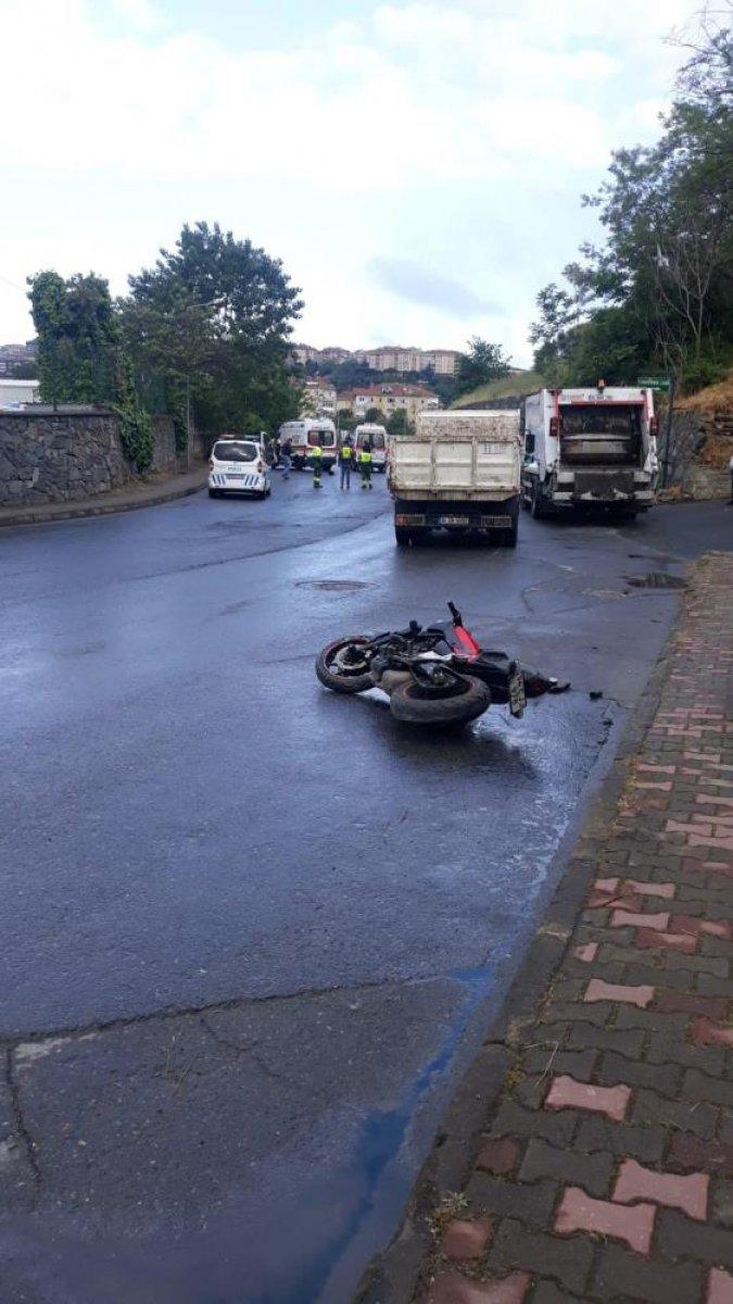 İstanbul da motosiklet tutkunu genç hayatını kaybetti  #6