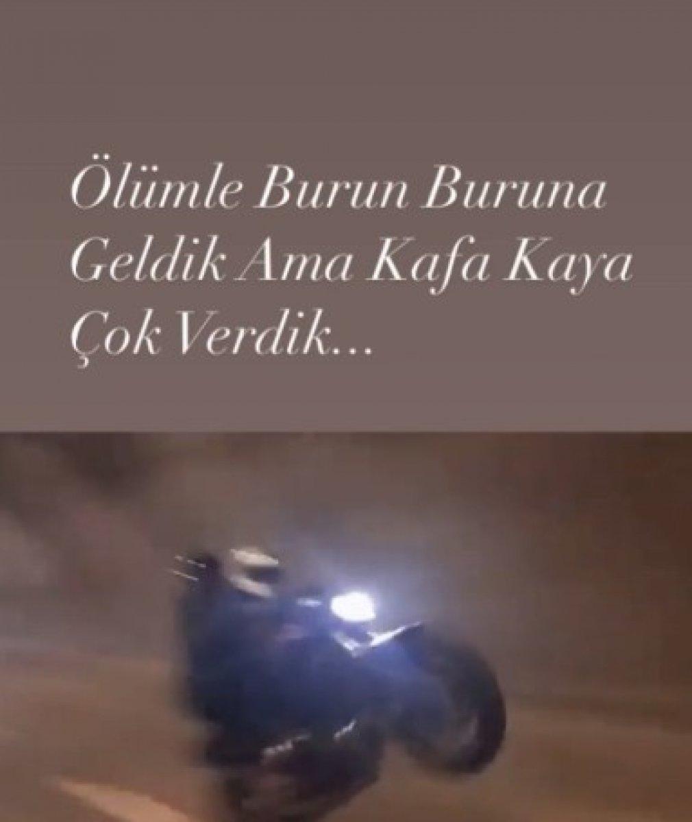 İstanbul da motosiklet tutkunu genç hayatını kaybetti  #2
