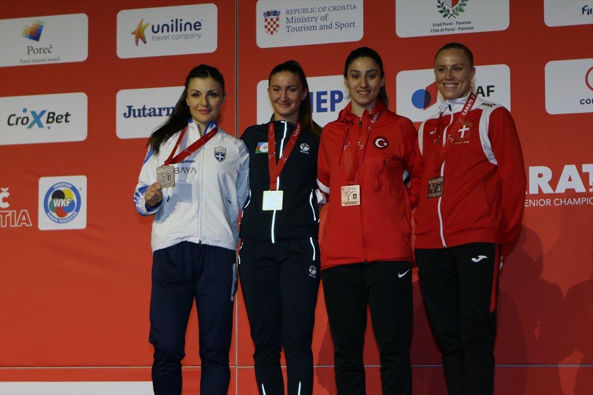 Avrupa Karate Şampiyonası nda milli sporculardan madalya yağmuru #6