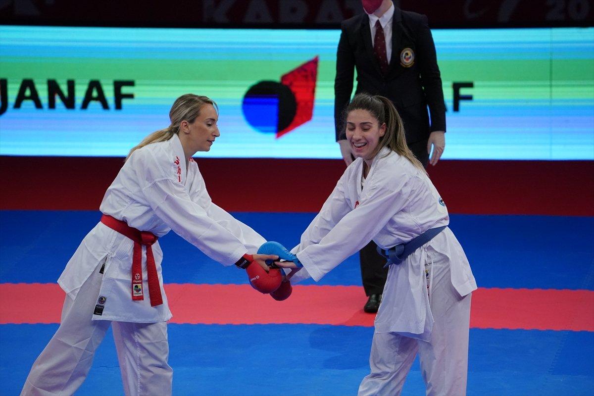 Avrupa Karate Şampiyonası nda milli sporculardan madalya yağmuru #7
