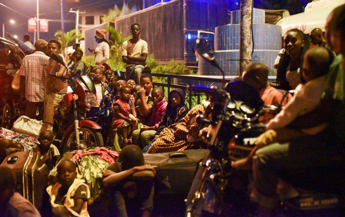 Kongo'da Afrika nın en aktif yanardağı Nyiragongo patladı #8