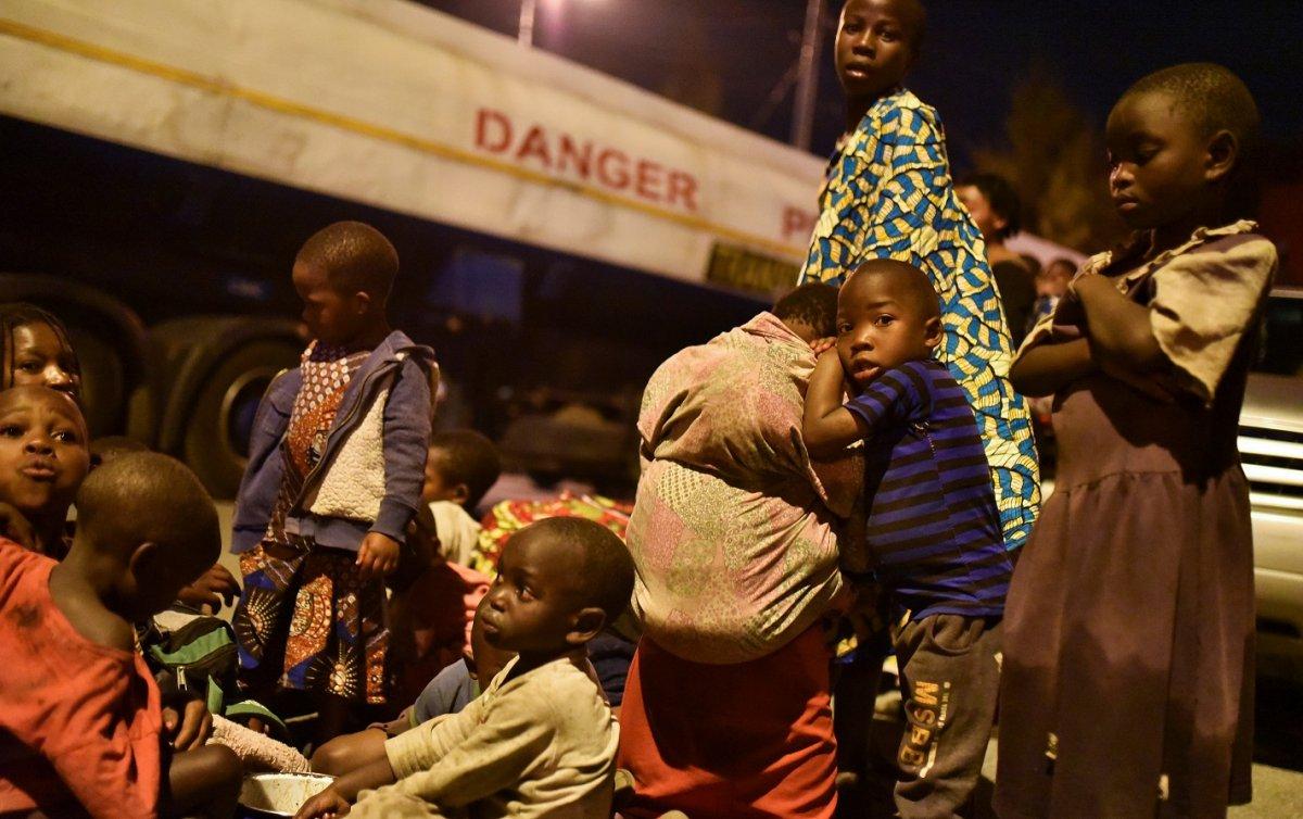 Kongo'da Afrika nın en aktif yanardağı Nyiragongo patladı #7
