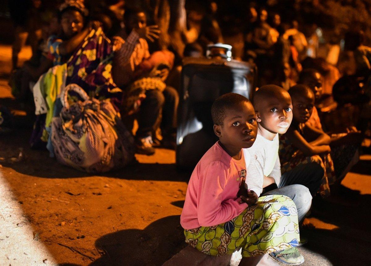 Kongo'da Afrika nın en aktif yanardağı Nyiragongo patladı #6