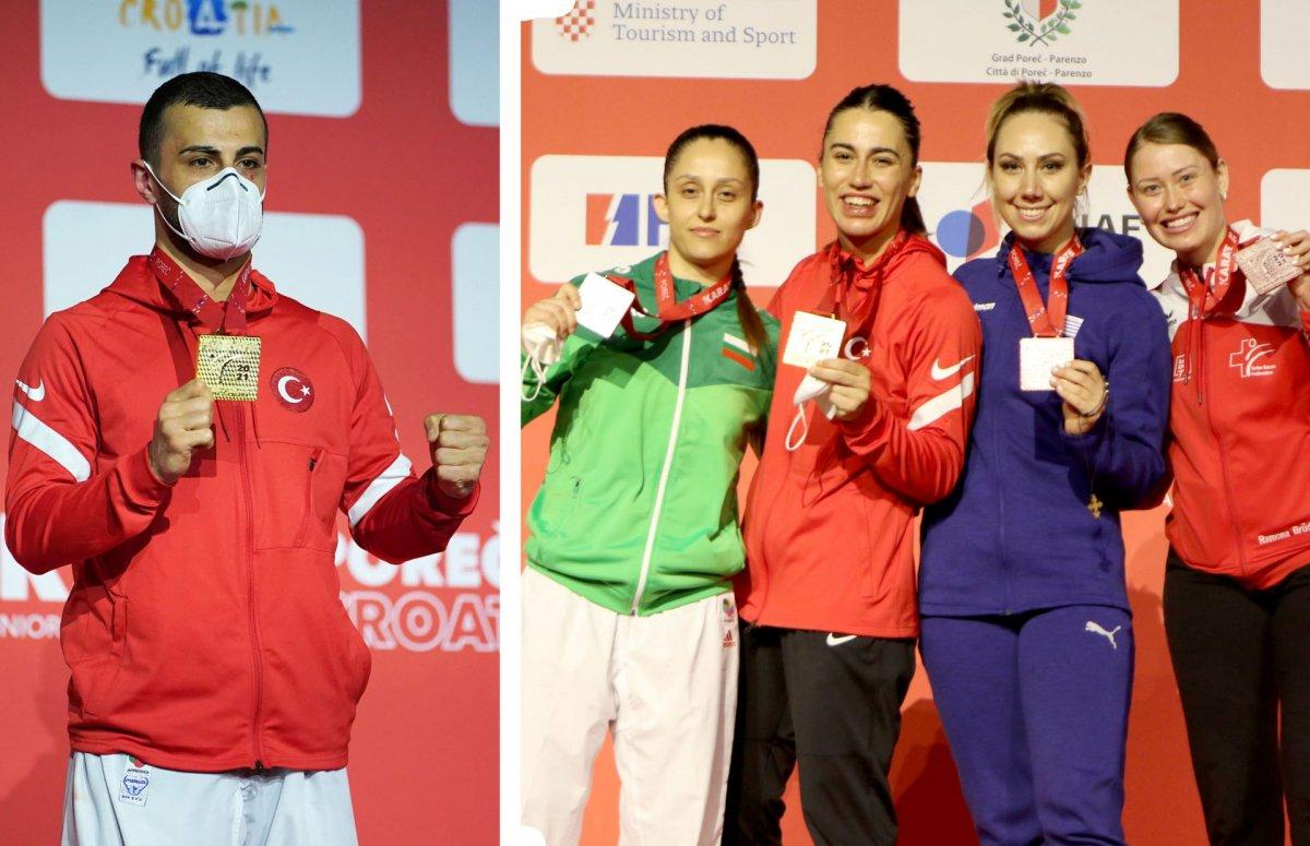 Avrupa Karate Şampiyonası nda milli sporculardan madalya yağmuru #3
