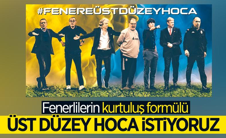 Fenerbahçe taraftarı üst düzey hoca istiyor