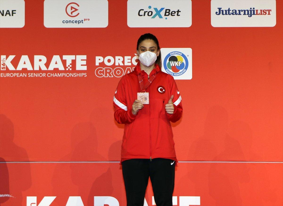 Avrupa Karate Şampiyonası nda milli sporculardan madalya yağmuru #4