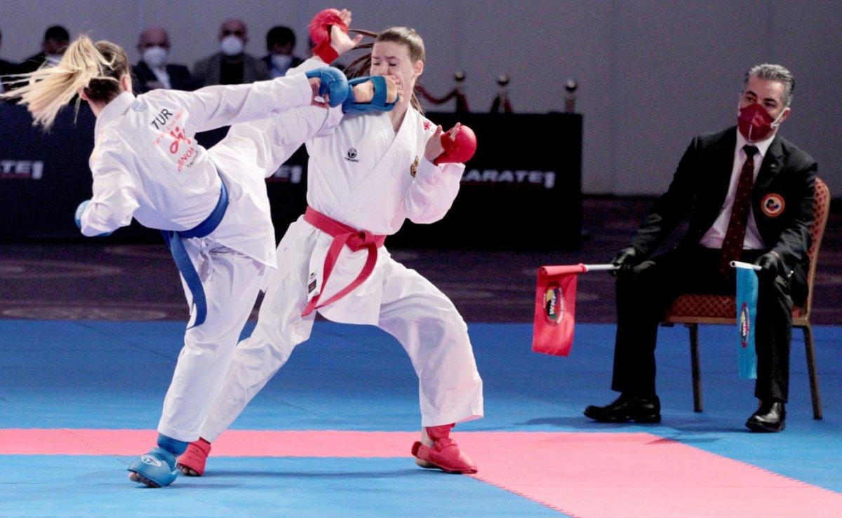 Avrupa Karate Şampiyonası nda milli sporculardan madalya yağmuru #9