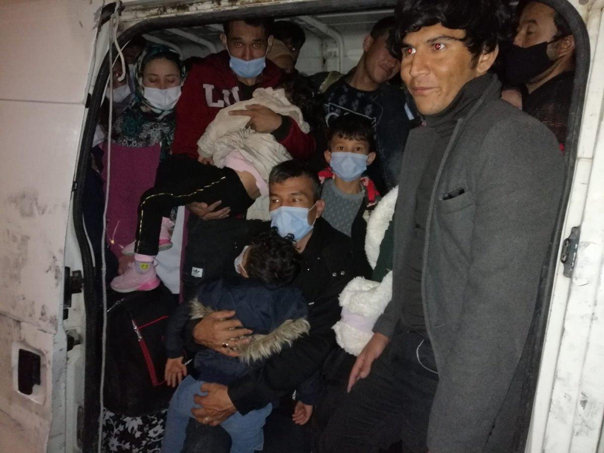 Van'da 66 düzensiz göçmen yakalandı #1