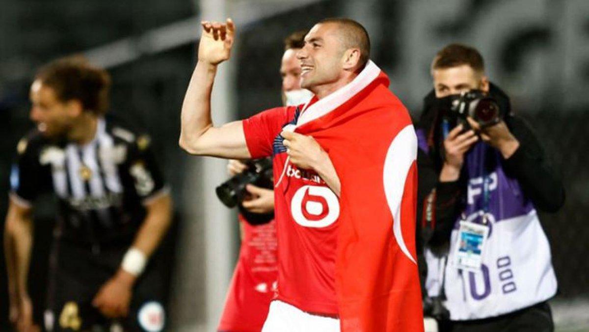 Lille, Fransa Ligue 1'de şampiyon oldu #2